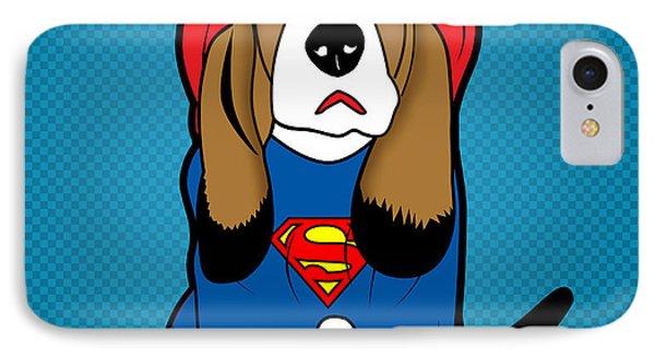 Superman Dog  Phone Case by Mark Ashkenazi