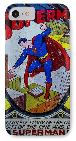 Superman Phone Case by Mitch Shindelbower