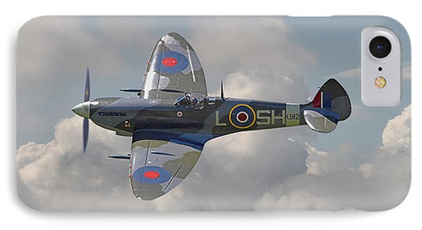 Supermarine Spitfire IPhone Case by Pat Speirs