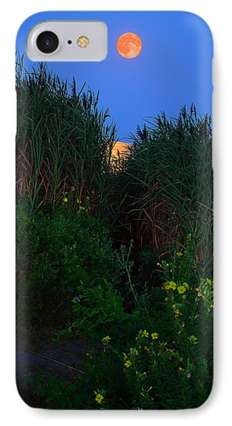 Supermoon 2014 -color IPhone Case