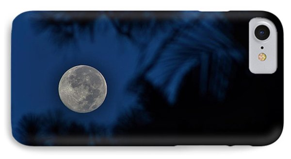 Supermoon August 2014  IPhone Case