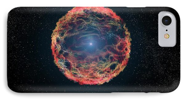 Supernova 1993j IPhone Case by Nasa, Esa, G. Bacon
