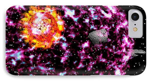Supernova IPhone Case by Michele Wilson