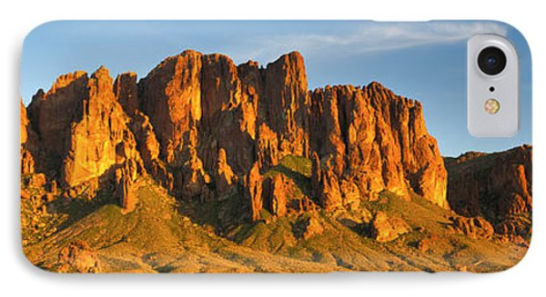 Superstition Mountains, Arizona, Usa IPhone Case by Panoramic Images