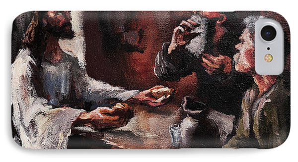 Supper At Emmaus IPhone Case
