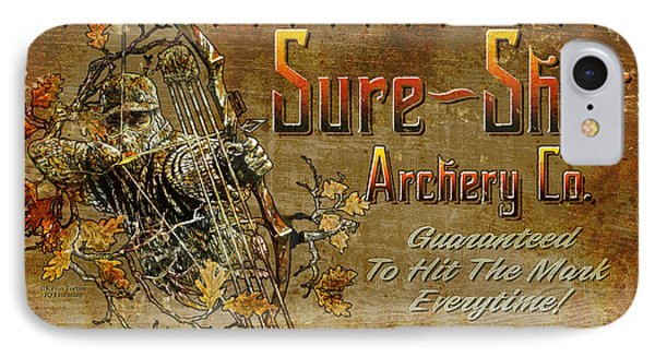 Sure Shot Archery Phone Case by JQ Licensing