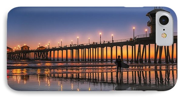 Surf City Usa IPhone Case