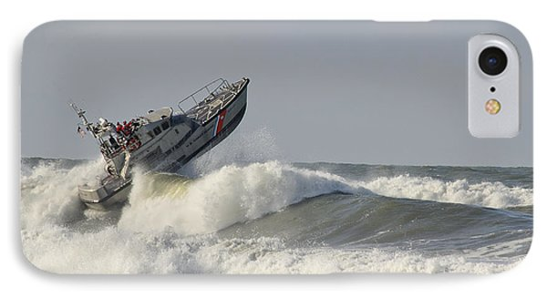 Surf Rescue Boat IPhone Case