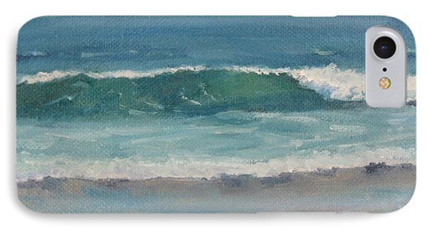 IPhone Case featuring the painting Surf Series 5 by Jennifer Boswell