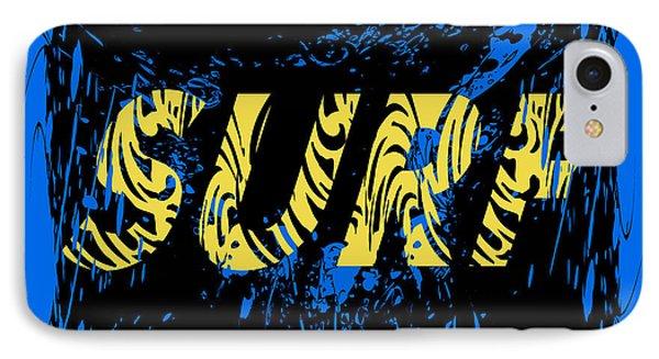 T Shirts iPhone 7 Case - Surf Typography, T-shirt Graphics by Lakoka