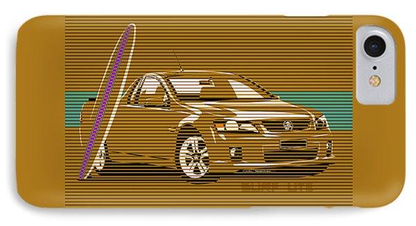 Surf Ute Phone Case by MOTORVATE STUDIO Colin Tresadern