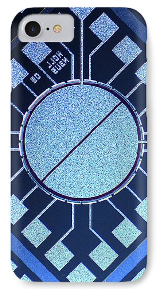 Surface Of Microchip IPhone Case