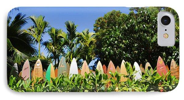 Surfboard Fence - Left Side IPhone Case