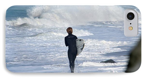 Surfer IPhone Case by Alex King