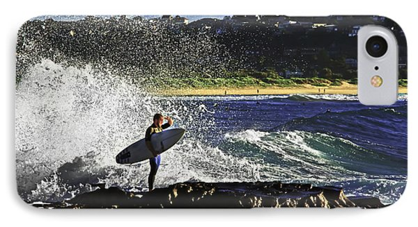 Surfer IPhone Case by Miroslava Jurcik