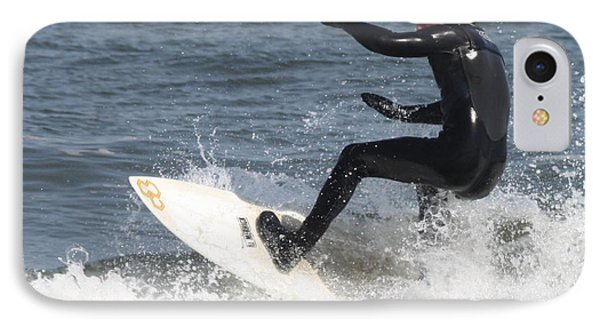 IPhone Case featuring the photograph Surfer On White Water by John Telfer
