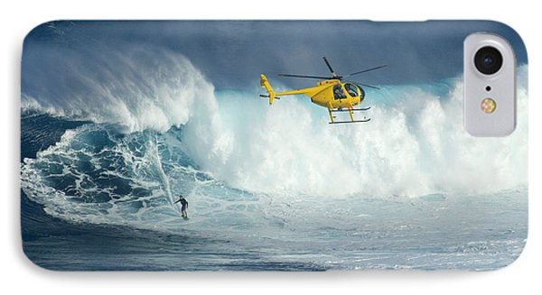 Surfing Jaws 6 Phone Case by Bob Christopher