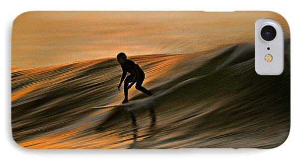 Surfing Liquid Copper C6j2144 IPhone Case by David Orias