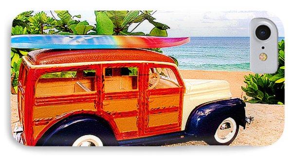 Surf's Up Phone Case by Jerome Stumphauzer