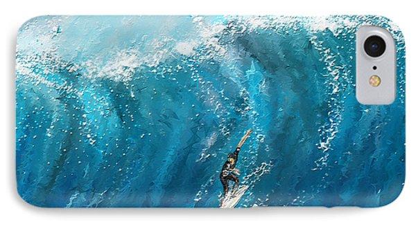 Surf's Up- Surfing Art IPhone Case