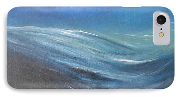 IPhone Case featuring the painting Surge by Jane  See