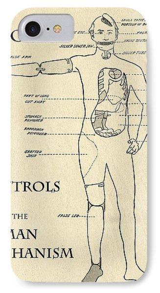 Surgery Controls The Human Mechanism   1906 Phone Case by Daniel Hagerman