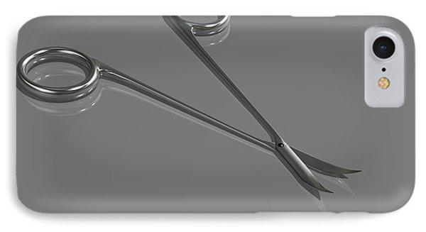 Surgical Scissors IPhone Case