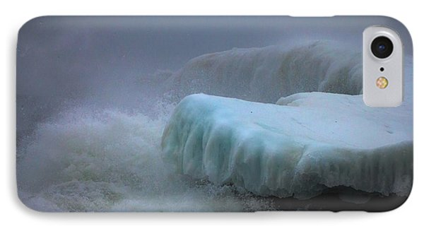 Surging Sea IPhone Case by Mary Amerman