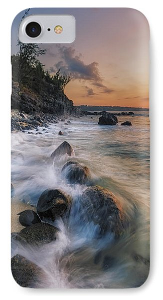 Surging Sunset IPhone Case by Hawaii  Fine Art Photography