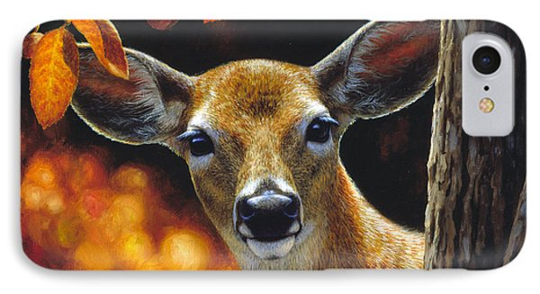 Whitetail Deer - Surprise IPhone Case
