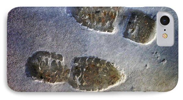 Surreal Footprints IPhone Case