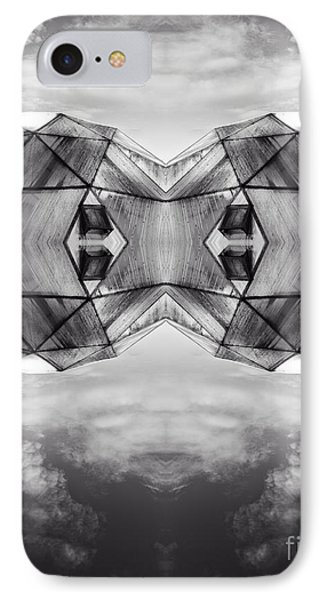 Surreal Landscape - Dwelling IPhone Case by Edward Fielding