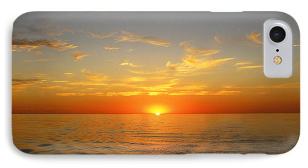 Surreal Sunrise At Sea IPhone Case
