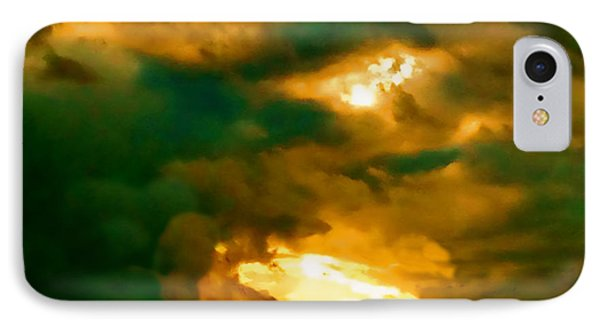 Surreal Sunset IPhone Case by Anita Lewis