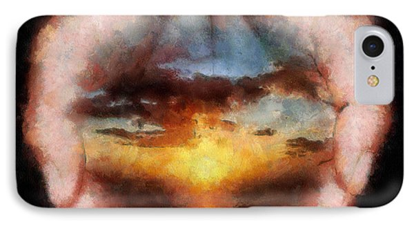 Surreal Sunset IPhone Case by Georgi Dimitrov