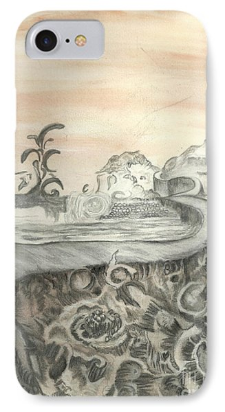 Surreal View Phone Case by Angela Pelfrey