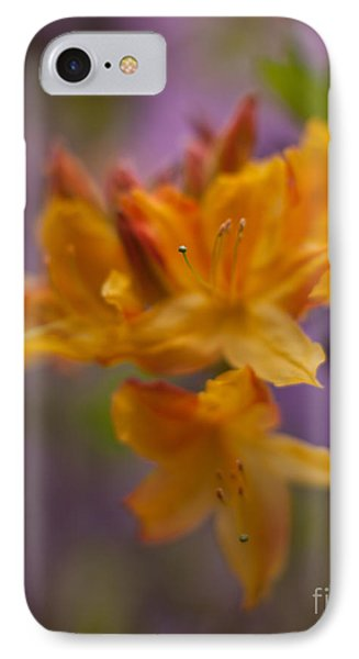 Surrealistic Blooms Phone Case by Mike Reid