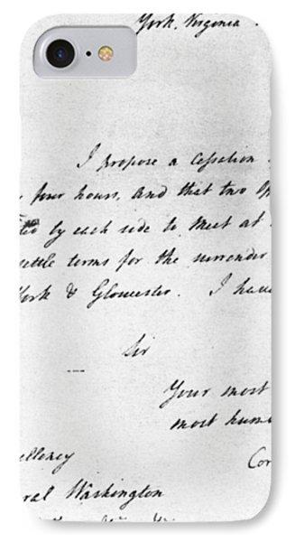 Surrender At Yorktown IPhone Case by Granger
