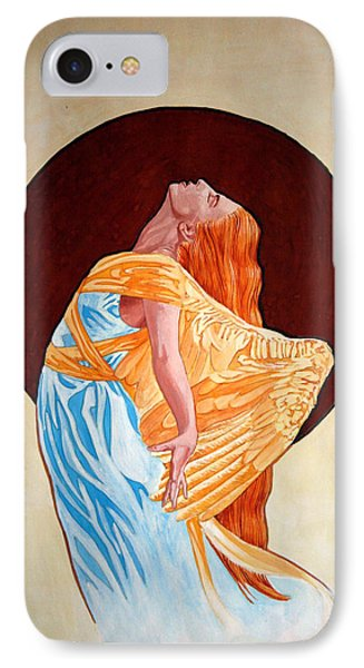 IPhone Case featuring the painting Surrender by Leena Pekkalainen
