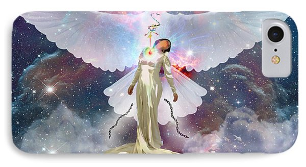 Surrendered Bride IPhone Case by Dolores Develde