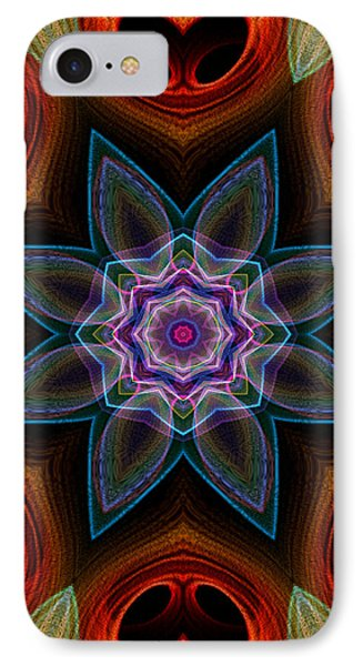 IPhone Case featuring the digital art Surround by Owlspook