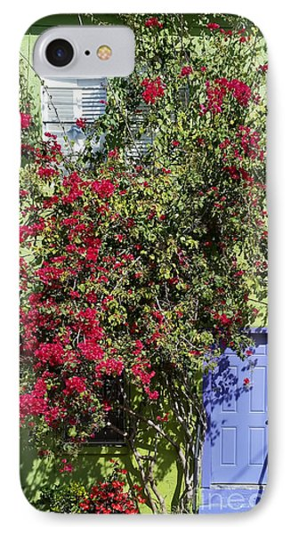 Surrounded By Bougainvillea IPhone Case by Liane Wright