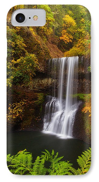 Surrounded By Fall Phone Case by Darren  White