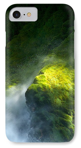 Surrounded By Mist   Vertical Phone Case by Mary Lee Dereske