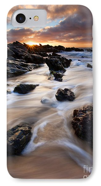 Surrounded By The Tides IPhone Case by Mike  Dawson