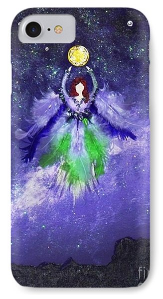IPhone Case featuring the painting Survivor by Alys Caviness-Gober