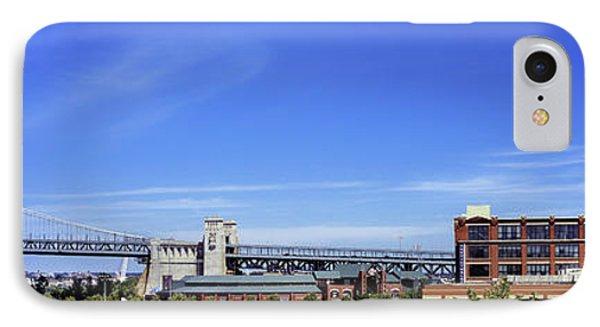 Suspension Bridge, Ben Franklin Bridge IPhone Case by Panoramic Images