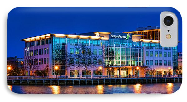 Susquehanna Bank Building In Camden IPhone Case by Olivier Le Queinec