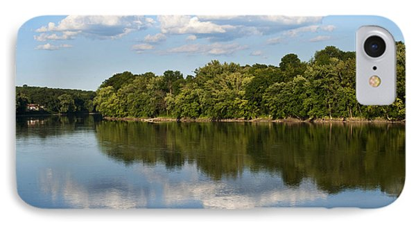 Susquehanna River Phone Case by Christina Rollo