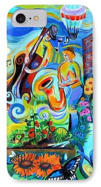 Dogtown Street Musicians Festival IPhone Case by Genevieve Esson